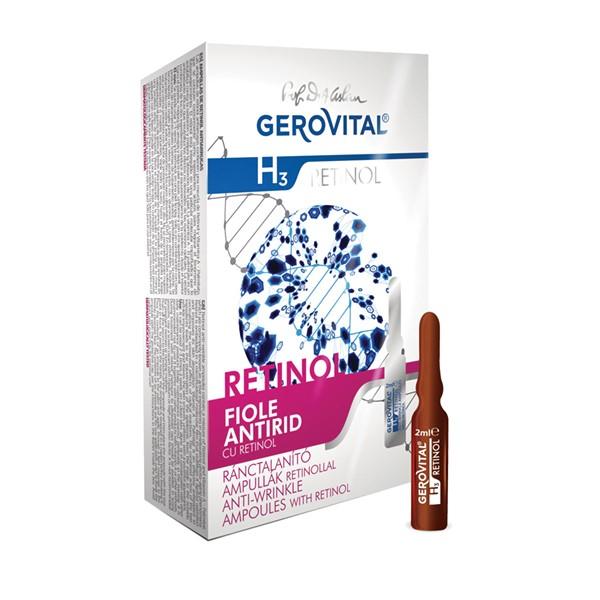 AMPULES WITH RETINOL