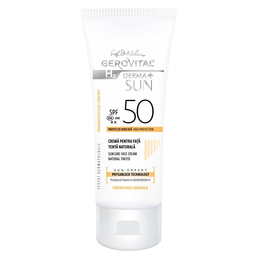 SUNCARE FACE CREAM SPF 50 - Natural Shade